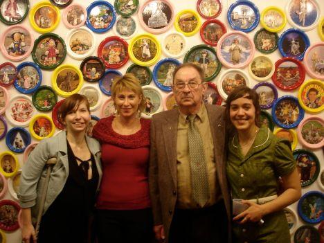Gwen, Deb, John, and Breena (photo courtesy of Reem)